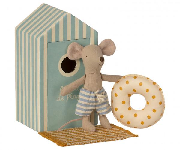 Beach Mouse little brother in Cabin von Maileg