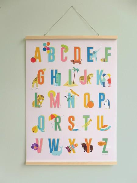 Buchstaben Poster