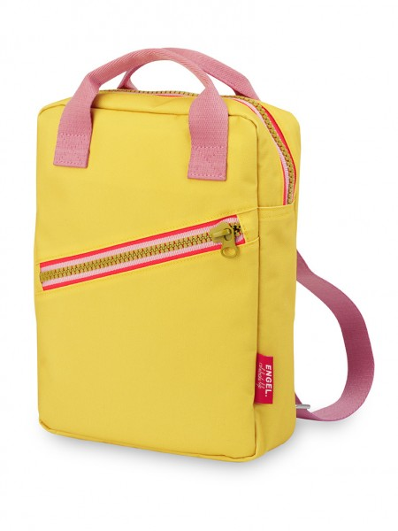 "Kinderrucksack small ""Zipper Yellow"""