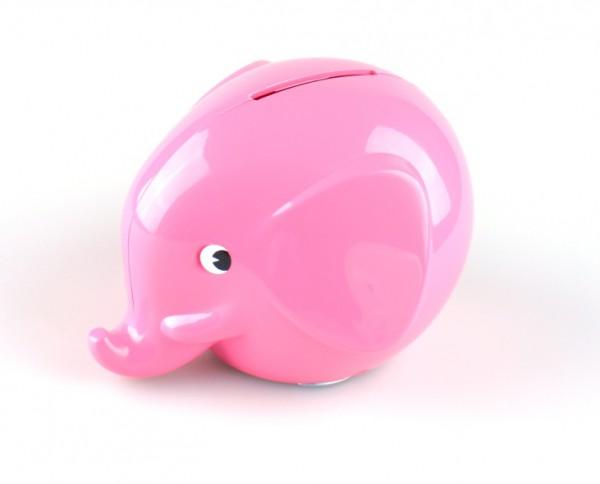 Spardose Elefant pink