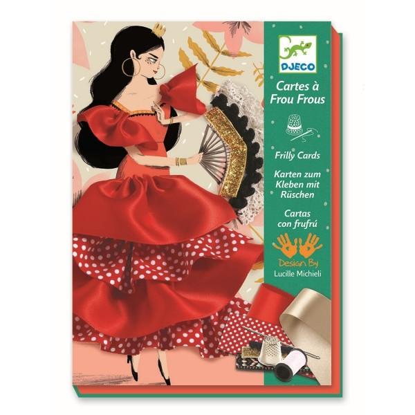 "Bastelset Nähen ""Flamenco"" von Djeco"