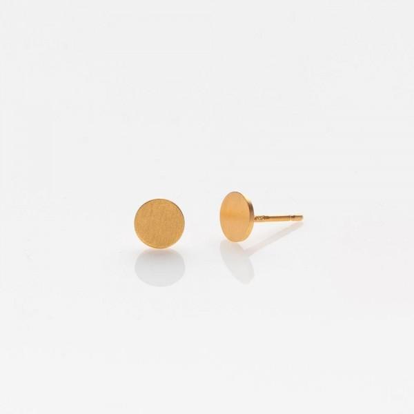 Toy Full Moon Gold Ohrringe