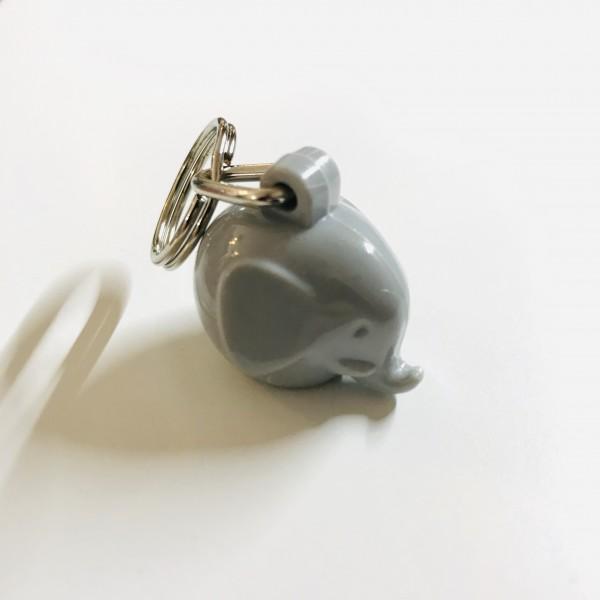 Schlüsselanhänger Elefant Grey von Omm Design