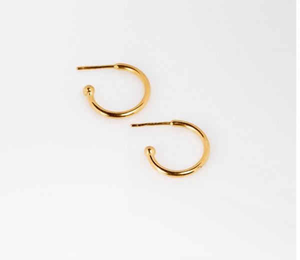 """Charming Hoops S glänzend """"Gold"""" von Prigipo"""