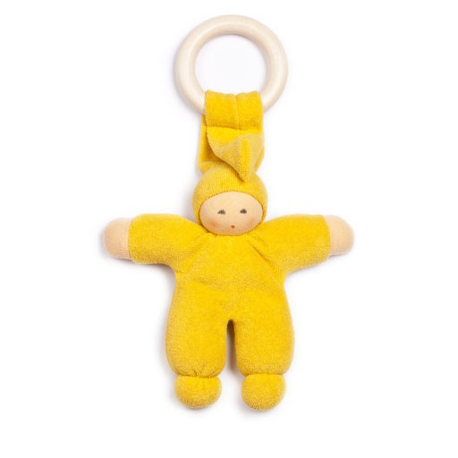 """Greifling """"Pimpel mit Ring"""" gelb von Nanchen BIO-"""