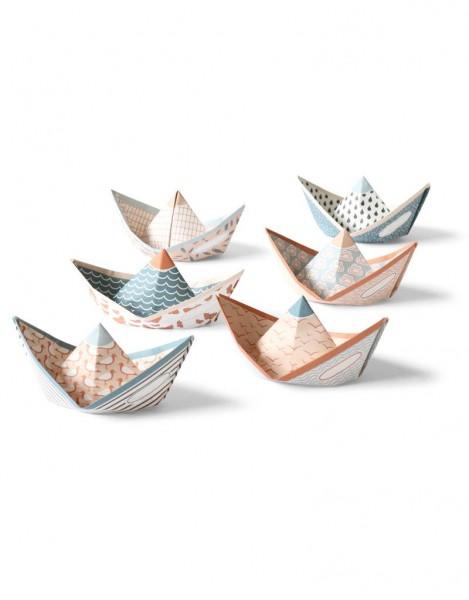 """Kleine Papierschiffchen """"Sweet Fleet"""" von Jurianne Matter"""