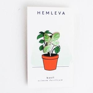 """Pin """"Basilikum"""" von Hemleva"""