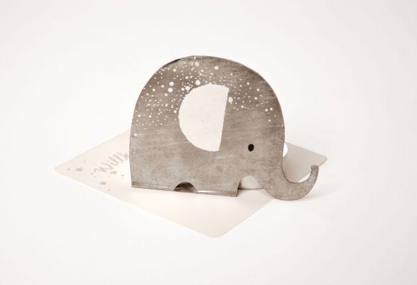 Kleine Lichtgrüße Elefant von Good old friends