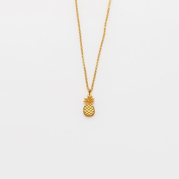 Toy Kette Ananas Gold