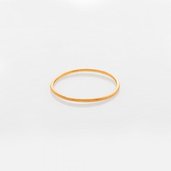 """Ring """"WIRE"""" Gold Größe 51 von Prigipo"""