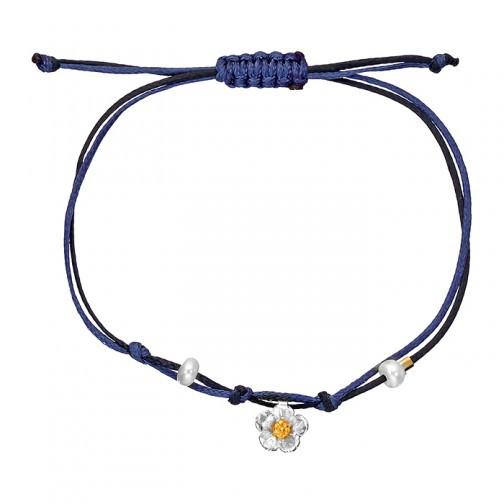 Armband mit Silberblüte von Onirolithi