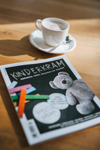KINDERKRAM die Zeitung für Familien in und um Nürnberg, Fürth, Erlangen