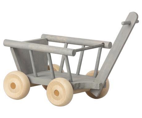 Maileg Leiterwagen Wagon mint/ grey Micro