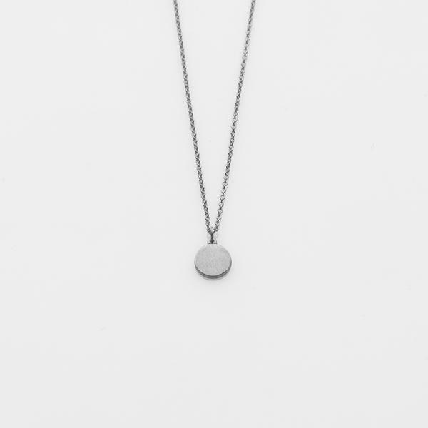 Kette Full Moon Silber Plättchen Schmuck von Prigipo