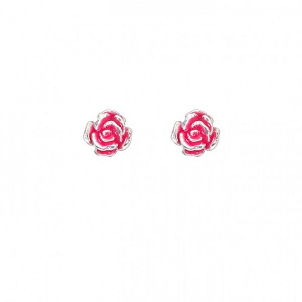 """Ohrring """"pink rose"""" von Onirolithi"""