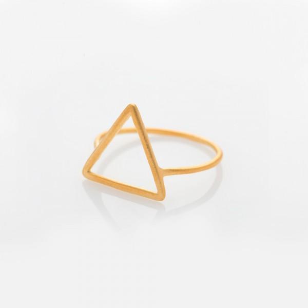 """Ring """"Triangel"""" Gold Größe 50 von Prigipo"""