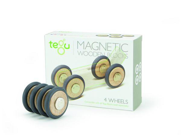 magnetische Räder 4 tlg.von tegu