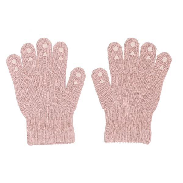 Grip Gloves Kinderhandschuhe mit Gumminoppen Dusty Rose 4-5 Jahre GoBabyGo