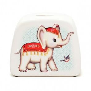 """Spardose """"Elefant"""" aus Porzellan von Kitsch Kitchen"""