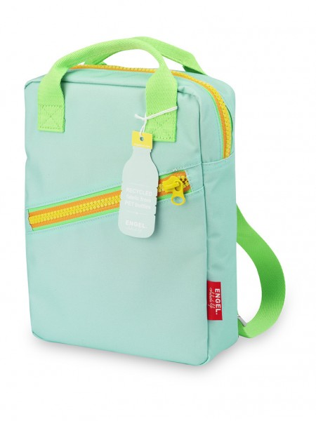 "Kinderrucksack small ""Zipper blue"""
