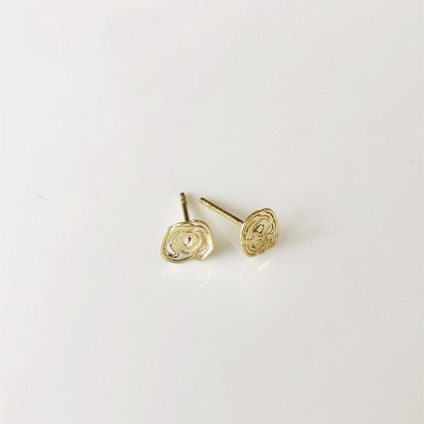 """Ohrringe """"Nestchen"""" aus Gold 585 von Goldkind"""