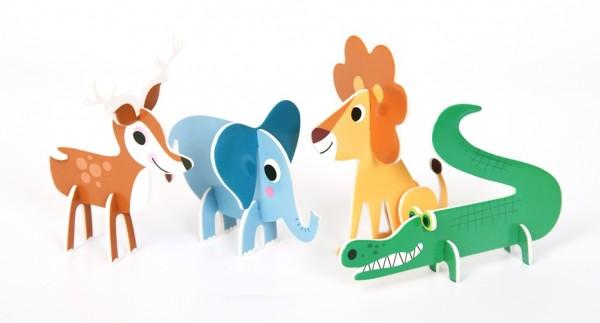 3 D Puzzle Tiere von OMM Design