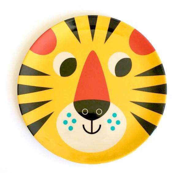 """Teller """"Tiger Gesicht"""" von OMM Design"""
