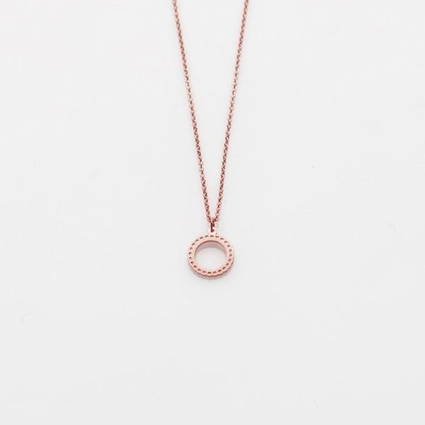 "Kette ""Toy 2019"" Mademoiselle Mini Silber rosé"