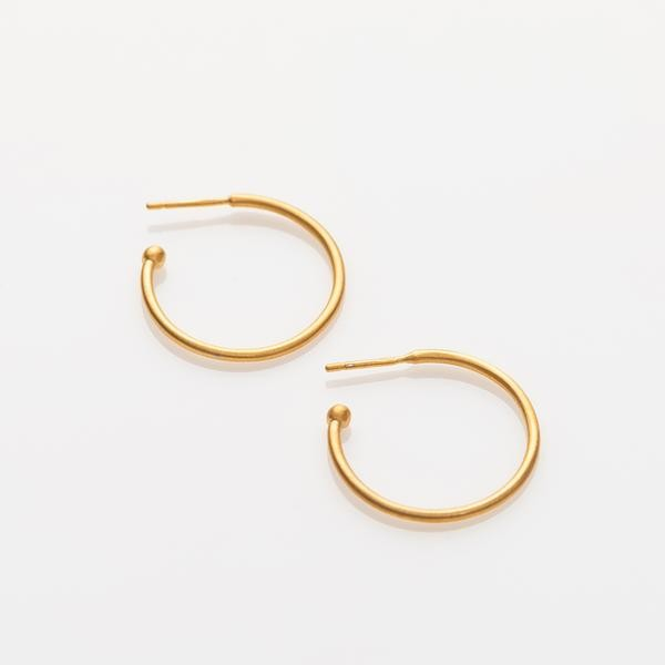 "Charming Hoops L matt ""Gold"" von Prigipo"