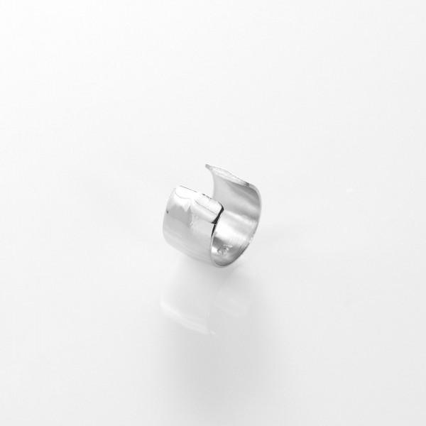 ear cuff Silber platiniert von Prigipo