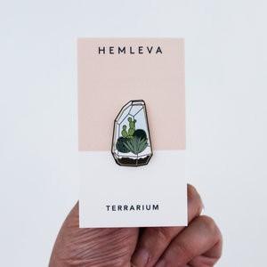 """Pin """"Terrarium"""""""