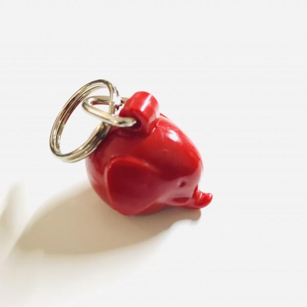 Schlüsselanhänger Elefant Red von Omm Design