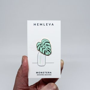"Pin ""Monstera mint"""