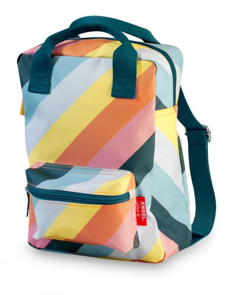 "Kinderrucksack small ""Stripe Rainbow"""