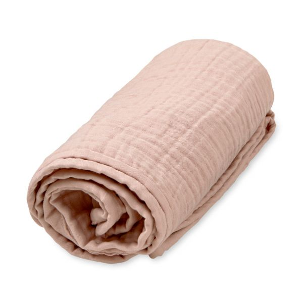 """Musselin Decke """"blossom pink"""" von Cam Cam"""