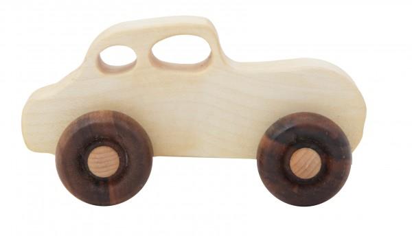 Retro Auto aus natürlichem Holz von Wooden Story