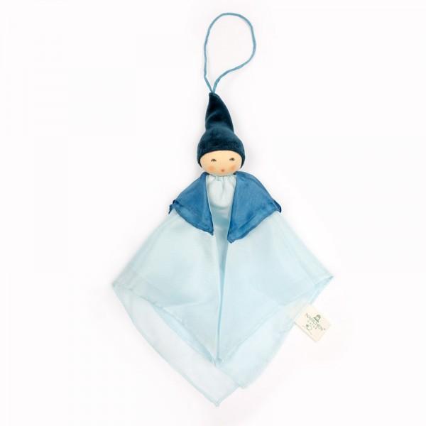 Kleine Wiegenfee blau/hellblau Seide von Nanchen