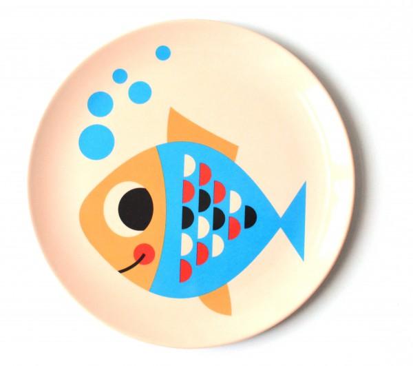 """Teller """"Fisch"""" von OMM Design"""
