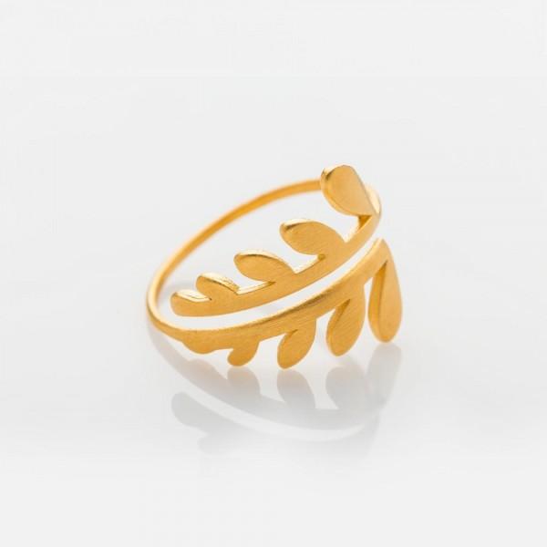 CHLOE Gold Ring S von Prigipo