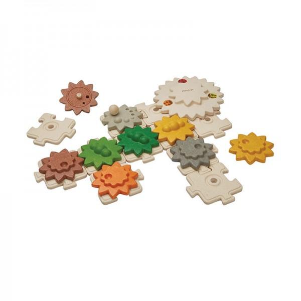 Getriebepuzzle Deluxe von Plan Toys