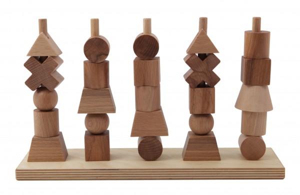 """Steckspiel """"Natur"""" BIO Qualität von Wooden Story"""