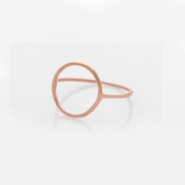 """Ring """"Circle"""" Rosé Größe 50 von Prigipo"""