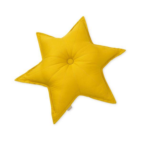 Kuschelkissen Stern mustard Cam Cam