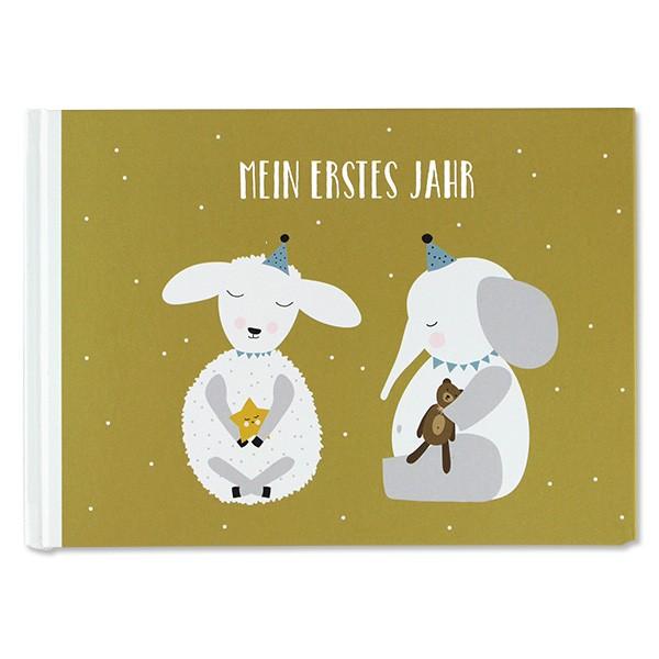 """Buch """"Mein erstes Jahr"""" Elefanten von Ava&Yves"""