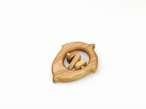 "Greifling ""Eichel"" Holz Bio von Lotes Toys"