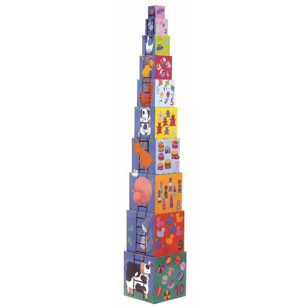 "Stapelturm ""Funny Blocks"""