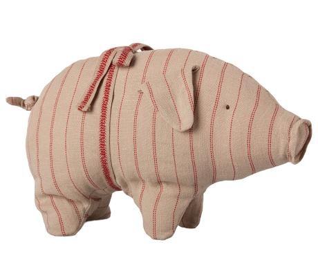 Stofftier kleines Schweinchen gestreift von Maileg