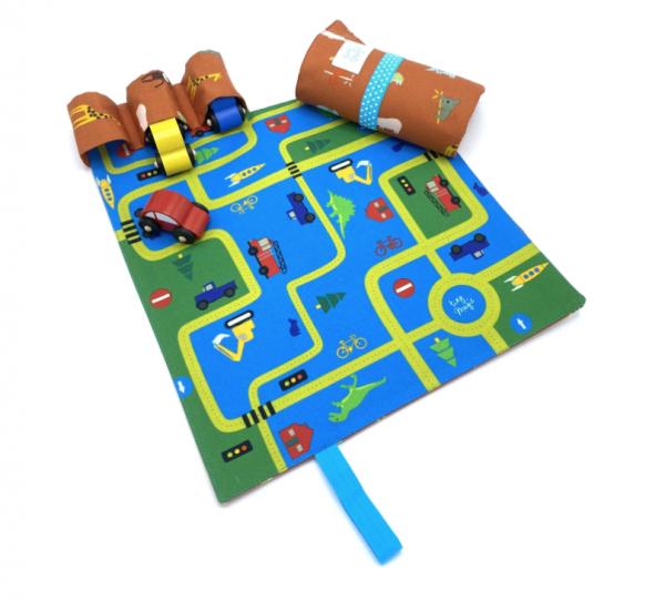 CarPet Autospiel Tiere für unterwegs von tiny magic