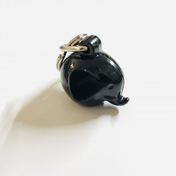 Schlüsselanhänger Elefant Black von Omm Design