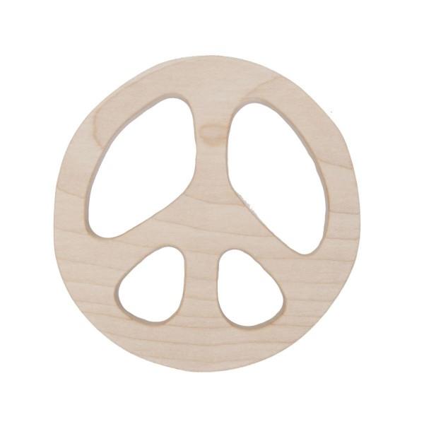 """Beißring """"Peace"""" von Wooden Story"""